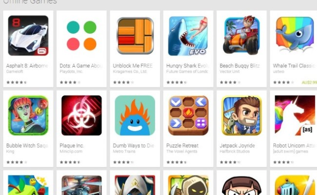 Google Adds Offline Games Subcategory To Google Play Store