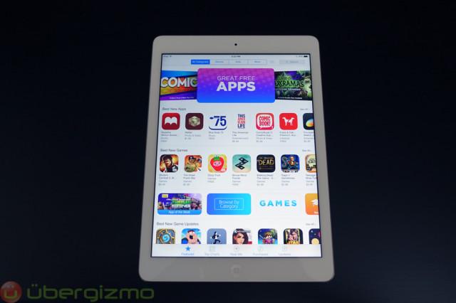 iPad-air-review-app-store