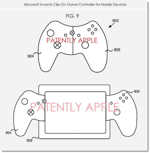 Microsoft Patent Suggests Splittable Xbox Controller For