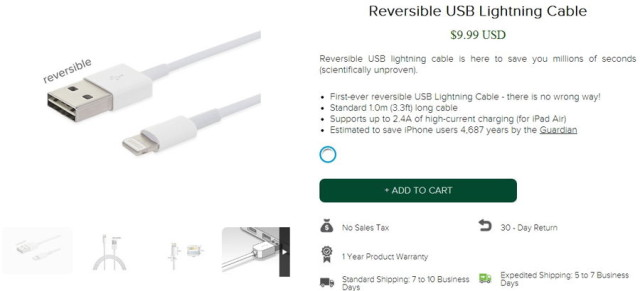 reversible lightning