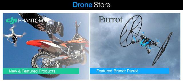 amazon-drone-store