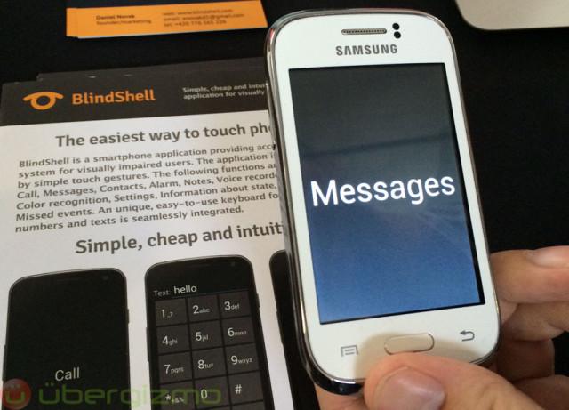 BlindShell: Making Android Better For The Blind | Ubergizmo
