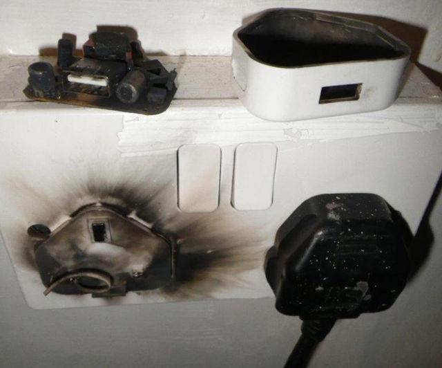 burnt-socket