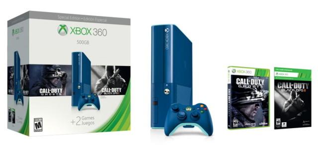 xbox 360 blue