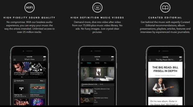 Newly Launched Tidal Music Streaming Service Targets Audiophiles