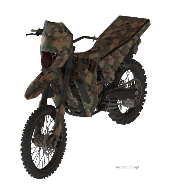 Logos SilentHawk Hybrid Motorcycle