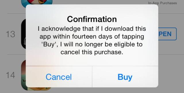 apple refund