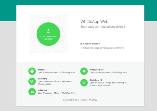 WhatsApp Web Client Launched, No iOS Support At The Moment | Ubergizmo
