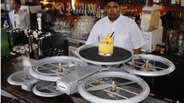 drones food