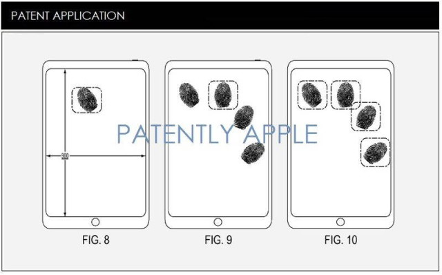touch id patent