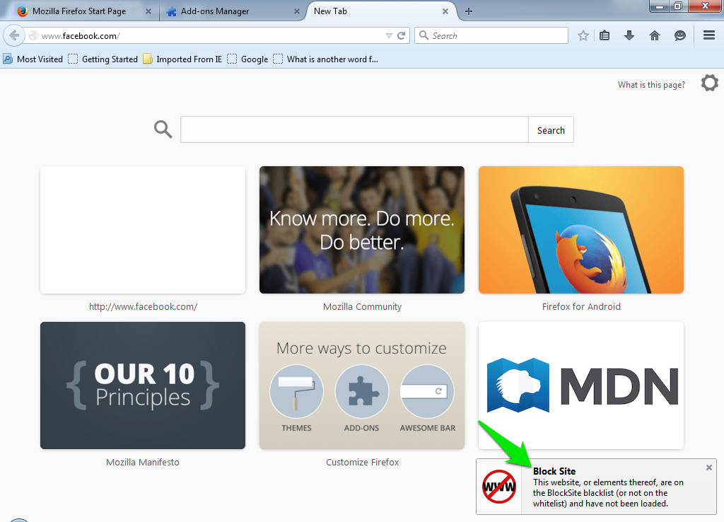 How To Block A Website (Windows & Android) | Ubergizmo