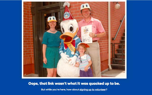 Clinton 404 Page