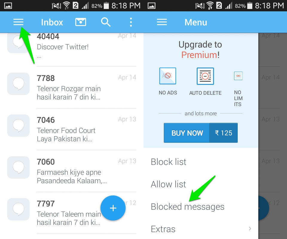 How To Block Text Messages On Android | Ubergizmo
