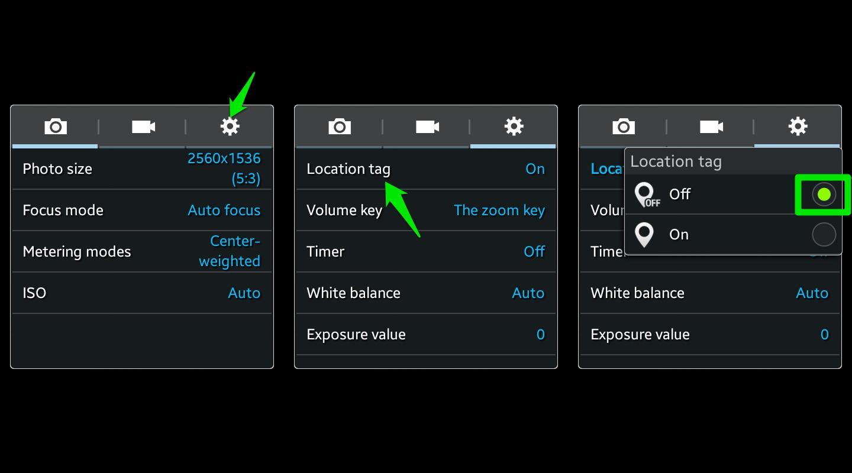 turn-off location tag