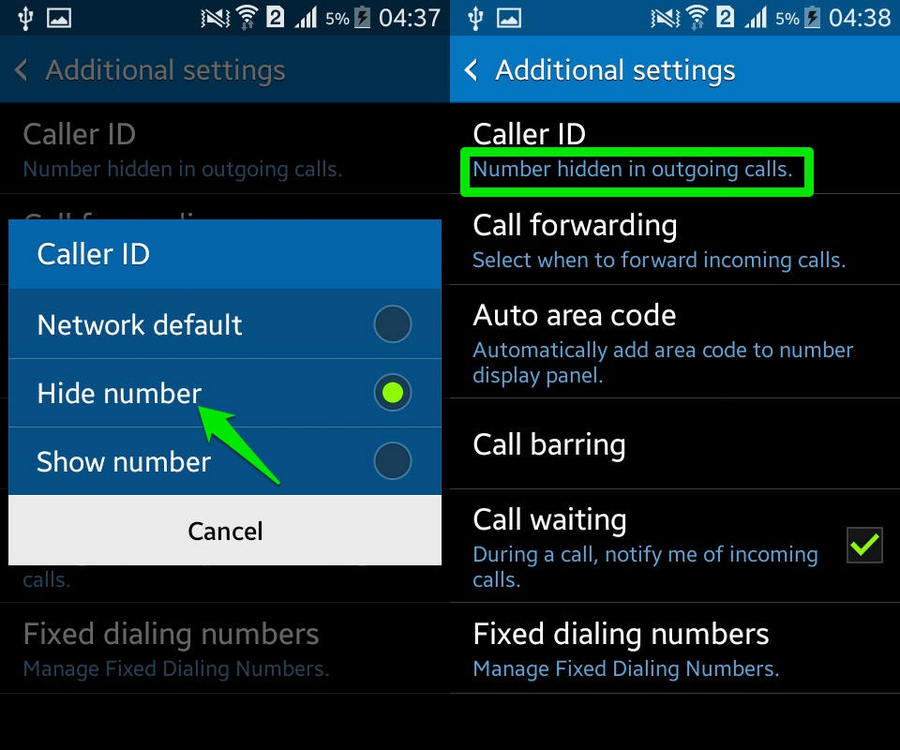 How To Hide Your Phone Number (Android) | Ubergizmo