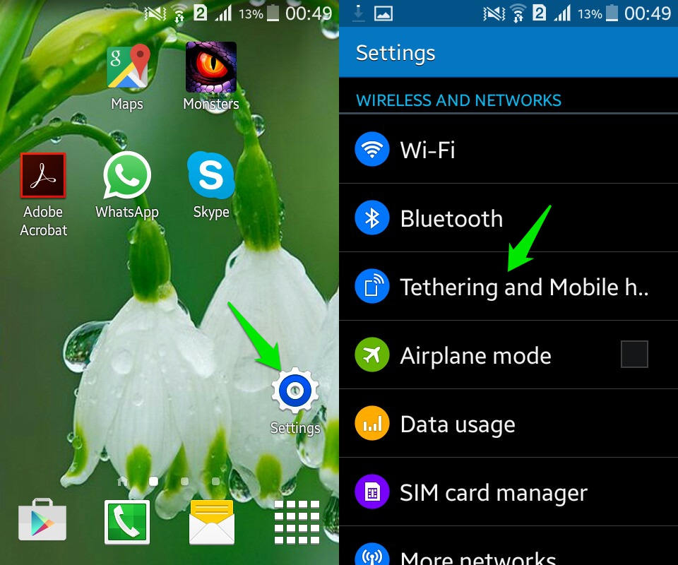 How To Create A Wifi Hotspot On Android Ubergizmo
