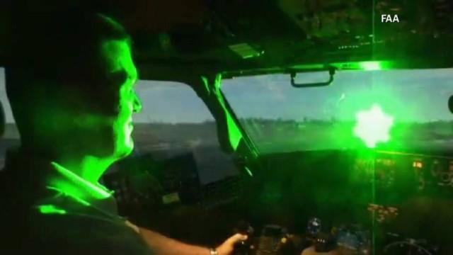 laser airplane