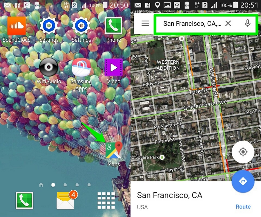 How To Use Google Maps Offline (Android) | Ubergizmo Google Map Offline Android Download on google sync android, google chrome search, google docs offline android, city maps 2go android, google maps android icon,