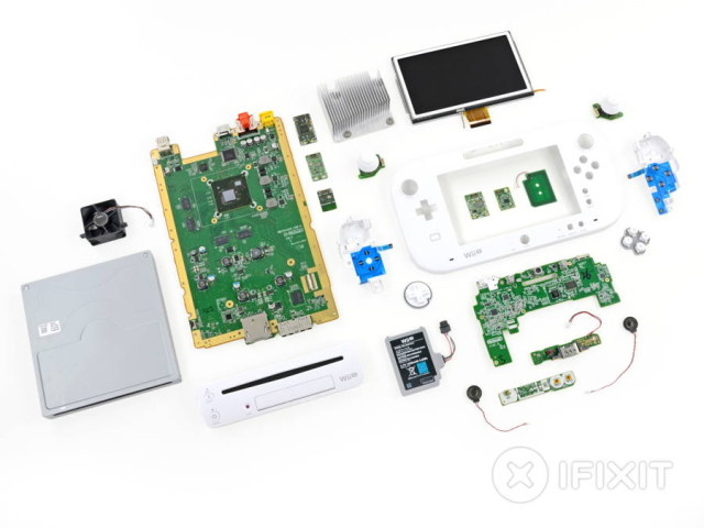 wii u teardown