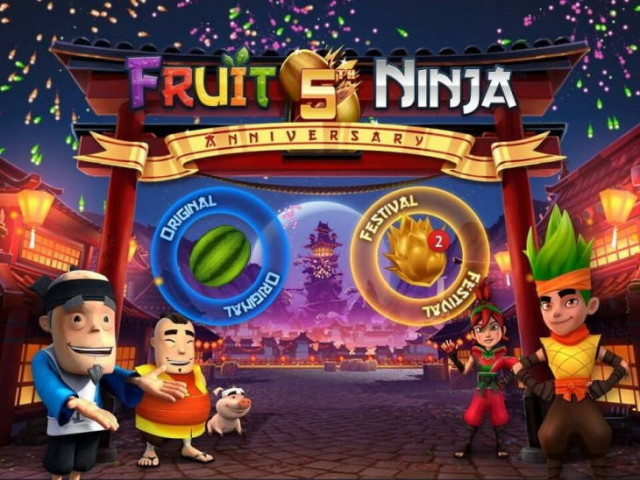 fruit ninja 5 years