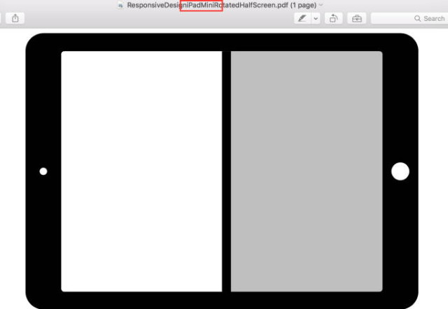 ipad mini split screen