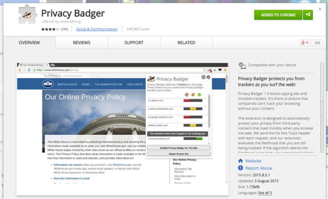 EFF Introduces Browser Extension That Blocks Spying Ads