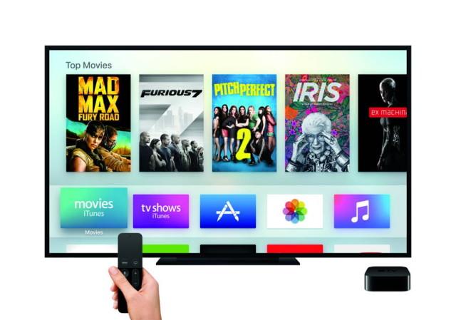 Apple TV_Remote-Hand_MainMenu-Movies-PRINT