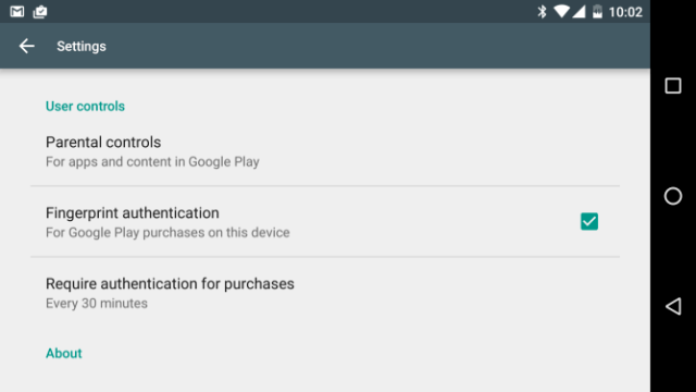 fingerprint-auth-google-play-store