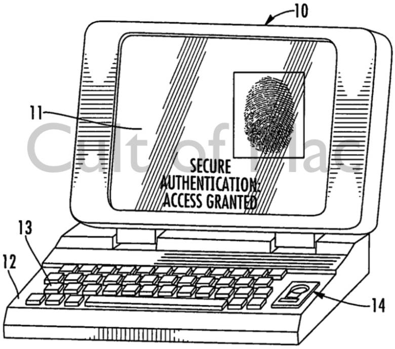 Apple Patent Shows Touch ID-like Sensor For MacBooks