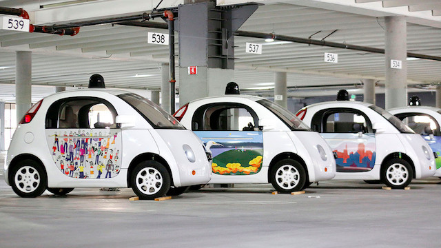 google-self-driving-cars-paint-the-town