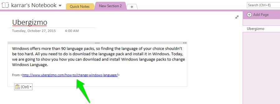 12 OneNote Tips And Tricks | Ubergizmo