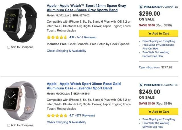 apple watch best buy discount