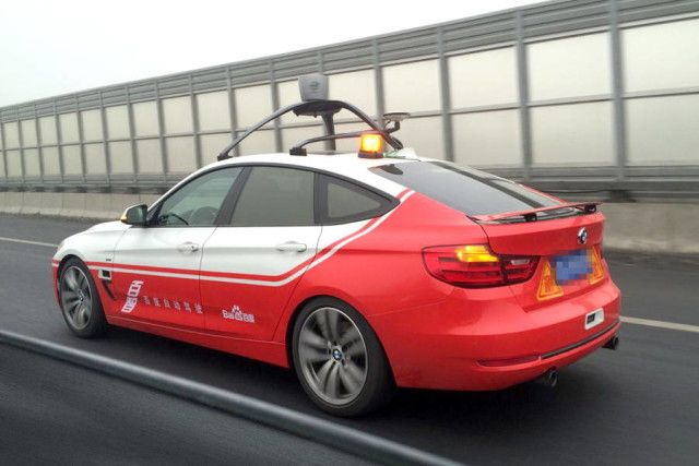 baidu self driving
