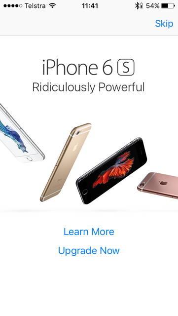 iphone 6s ad