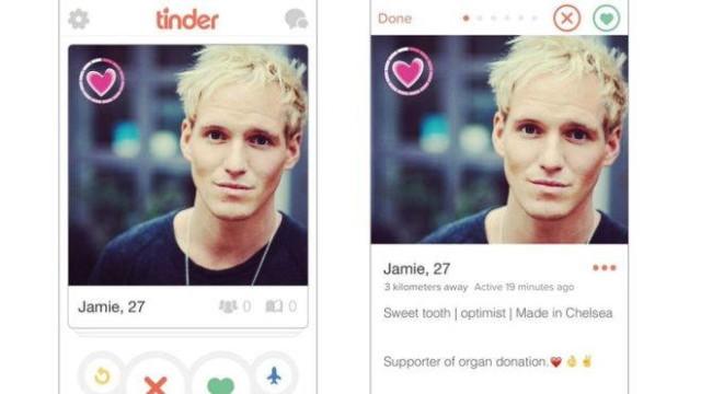 tinder organ donation