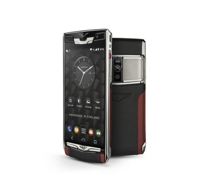 New Signature Touch for Bentley phone launched