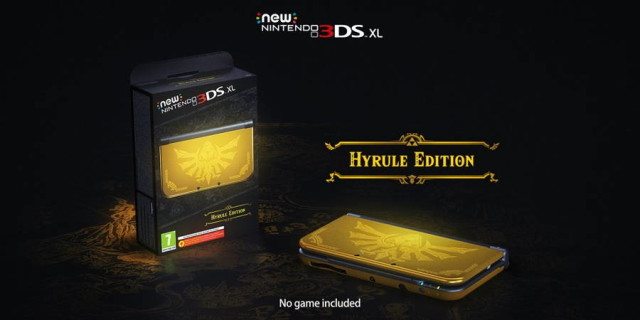 hyrule edition 3ds xl