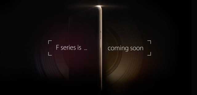 oppo F series poster