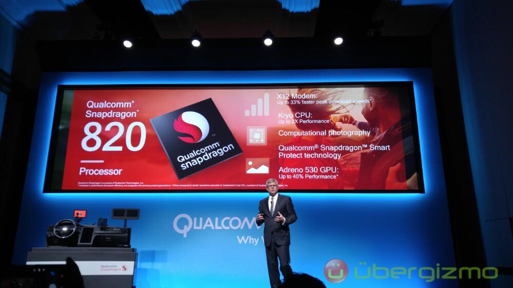 Qualcomm CEO snapdragon 820 ces 2016