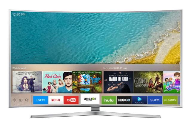 samsung smart tv UI