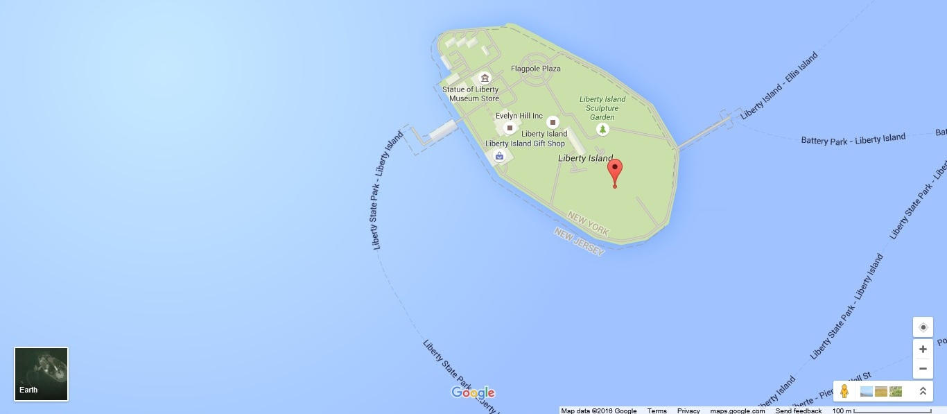 местоположение на картах Google найдено