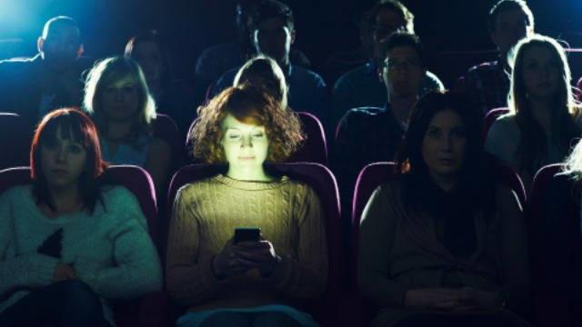 phones in theaters