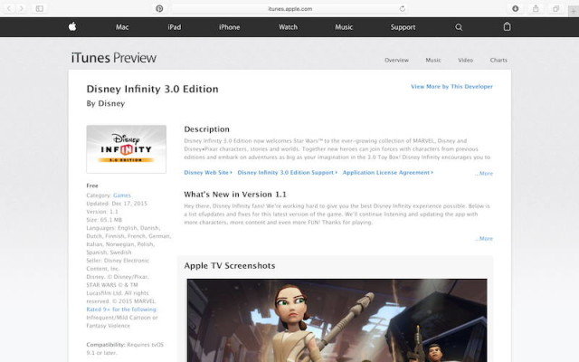apple tv web preview