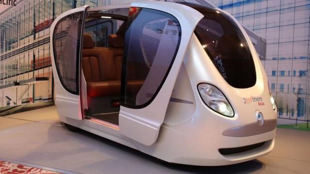 smrt driverless pods