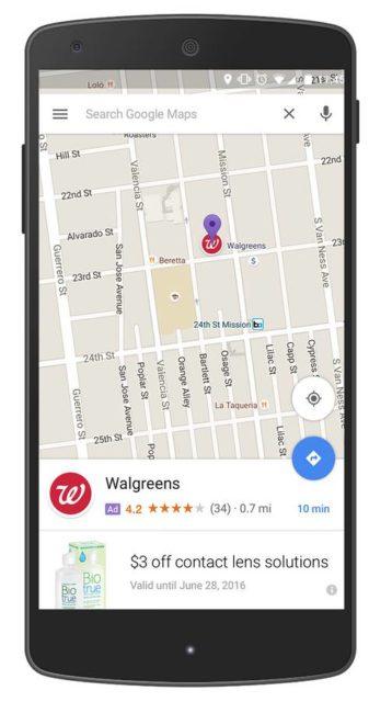 google maps protected pins