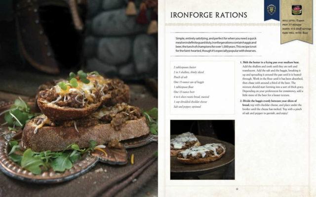 warcraft cookbook