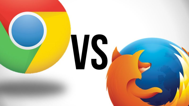 Chrome vs. Firefox