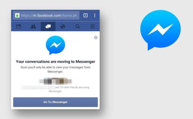 fb messenger web
