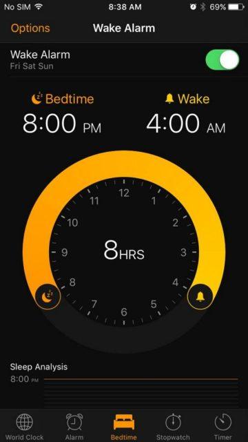 ios 10 clock app