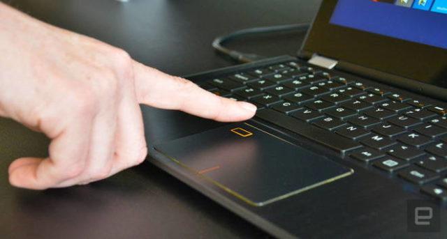 synaptics laptop